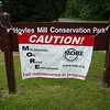 Hoyles Mill Workday : May 16, 2009, MORE Trail Workday at Hoyles Mill Conservation Park